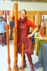 Blockflötenbauerin Adriana Breukink