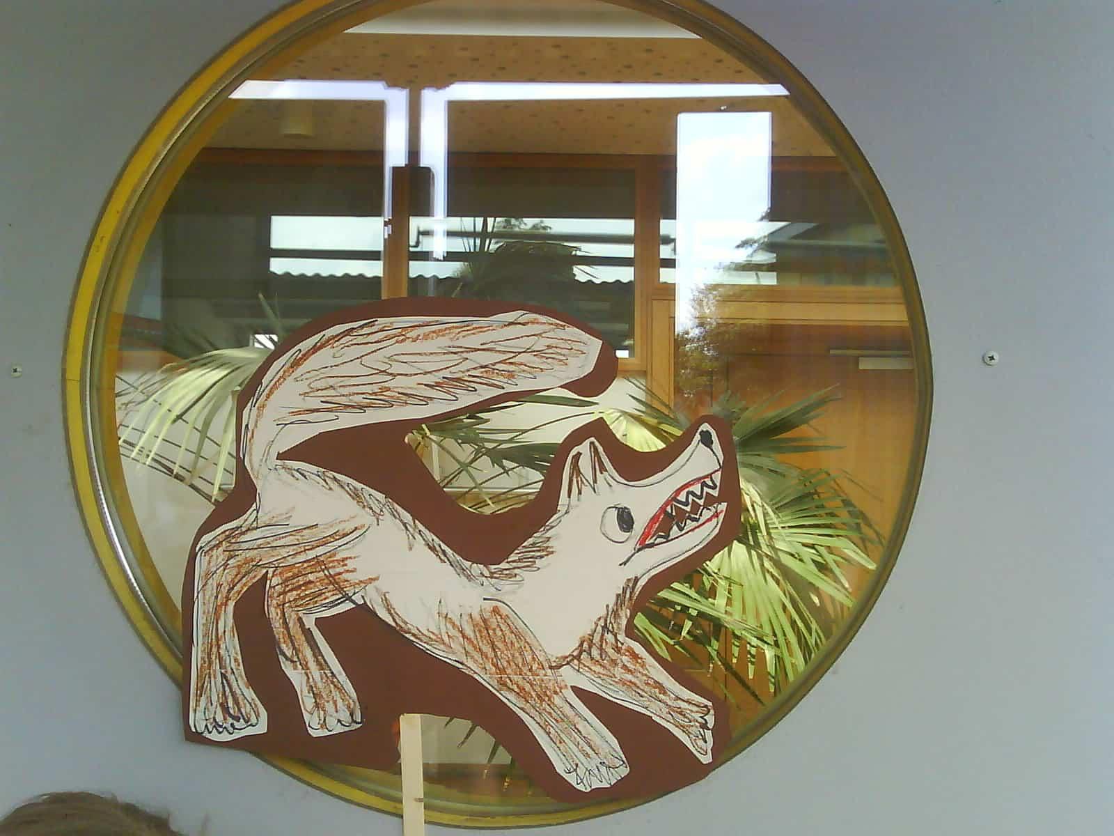 Der Hund des Hirten (Vivaldi, Der Frühling), Zeichnung / Foto: Anne Pape
