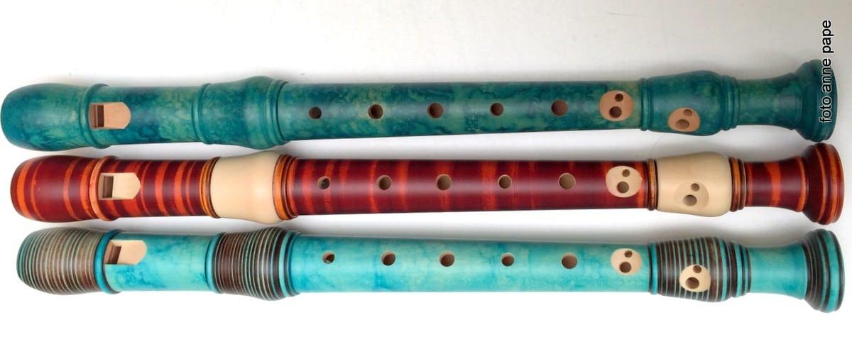 Bunte Flöten für stockstadt