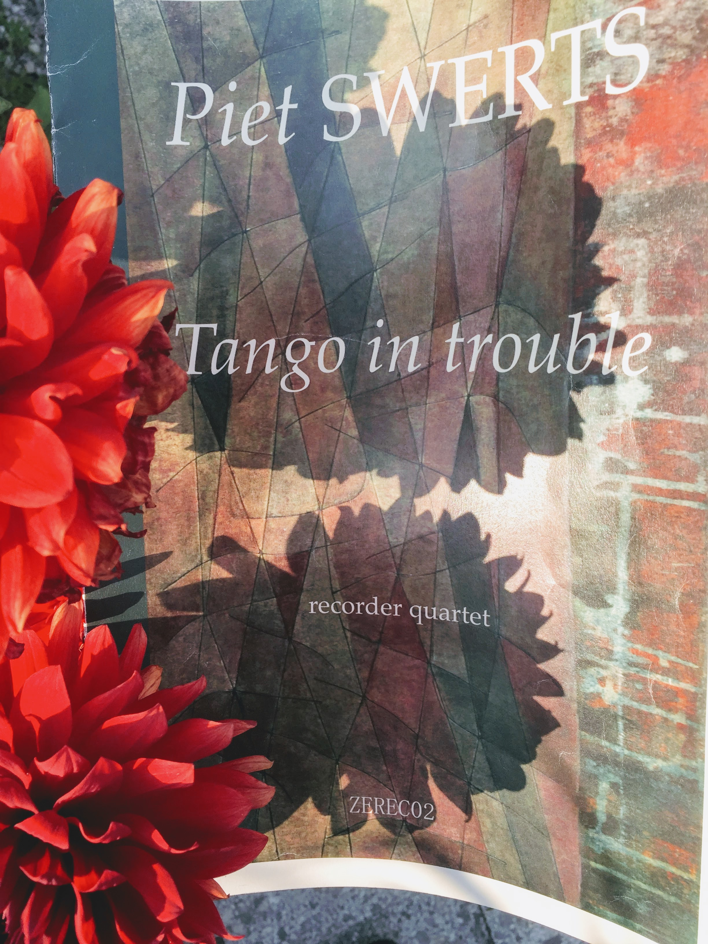 notenheft Tango in Trouble - Blog Anne Pape